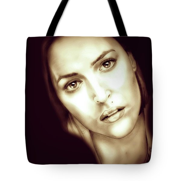Scully Tote Bag by Fred Larucci