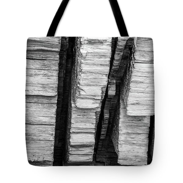 Sculpted Log Tote Bag