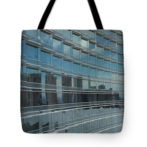 Sculpted Mirrors Tote Bag by Michiale Schneider