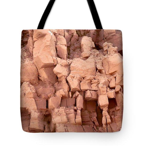 Sculpted Rocks Tote Bag
