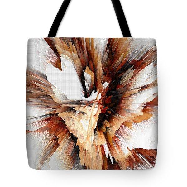 Tote Bag featuring the digital art Sculptural Series Digital Painting 23.120210ext5100l by Kris Haas