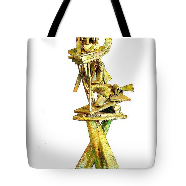 Sculptural Suite In Three Movements  Detail Tote Bag by Al Goldfarb