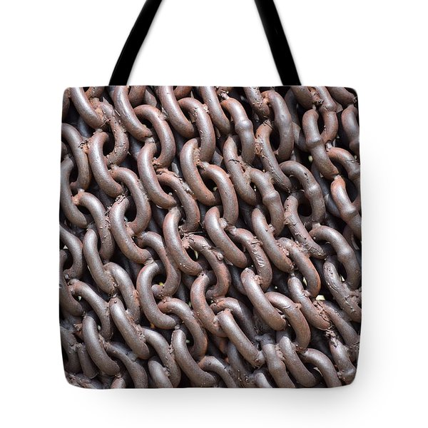 Sculpture Of Chain Tote Bag