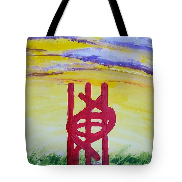 Sculpture Park Tote Bag by Carol Duarte