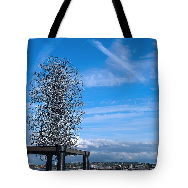 Sculpture, Skyline And Docs Tote Bag