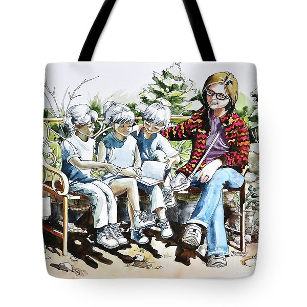 Lasting Pupils Tote Bag