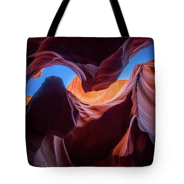 Sculptures Of Desert Tote Bag