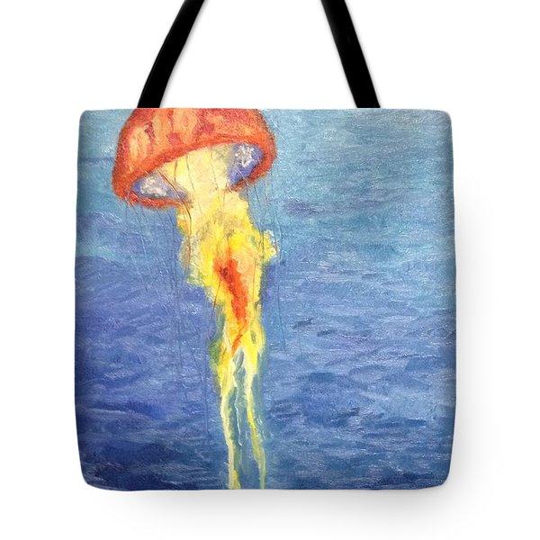 Scyphozoa Tote Bag