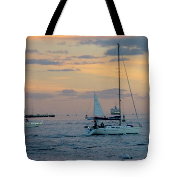 Sd Sunset 3 Tote Bag