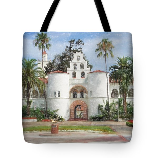 Sdsu Drawing Tote Bag