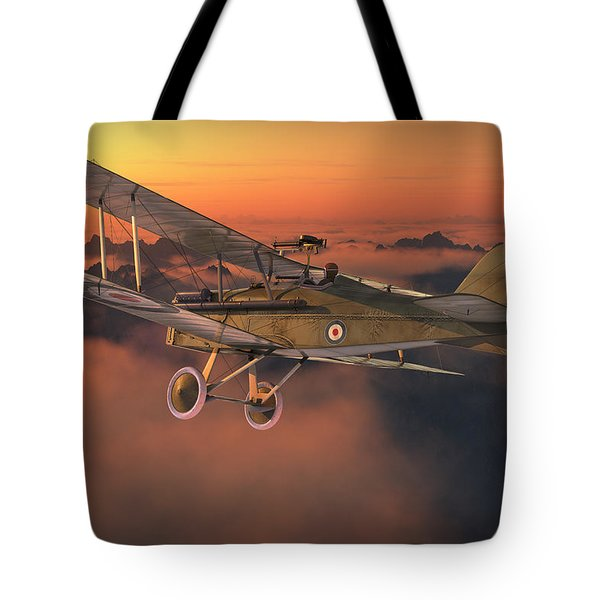 S.e. 5a On A Sunrise Morning Tote Bag by David Collins