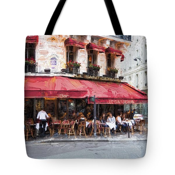 Le Saint Germain Tote Bag by John Rivera