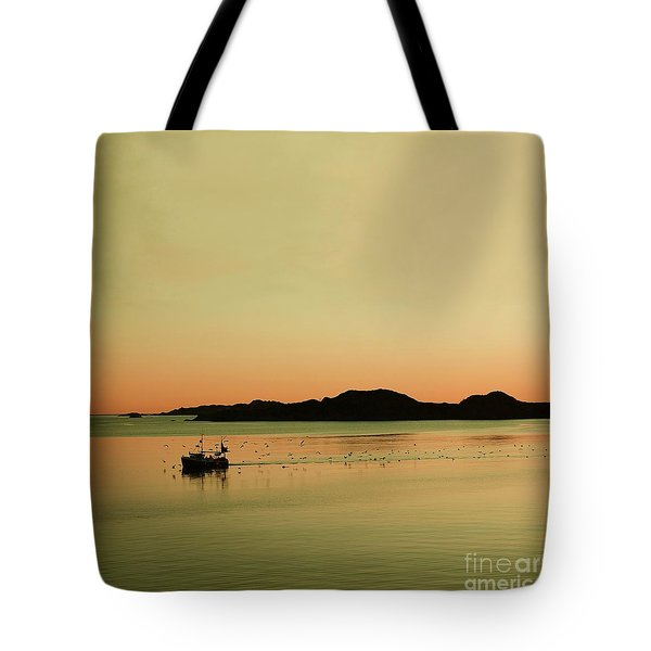 Sea After Sunset Tote Bag