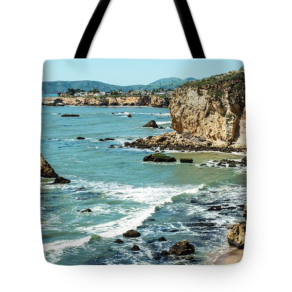 Sea And Cliffs Tote Bag