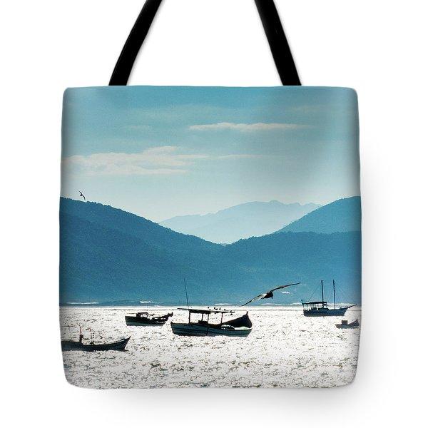Sea And Freedom Tote Bag by Martin Lopreiato