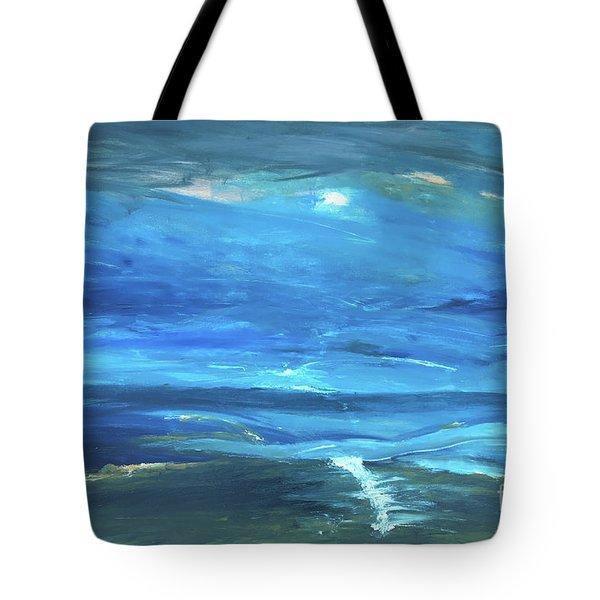 Sea And Sky Tote Bag