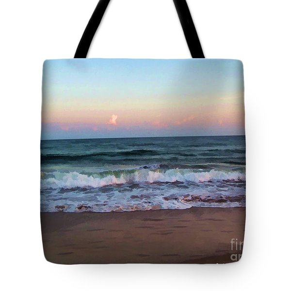 Tote Bag featuring the photograph Sea And Sky by Roberta Byram