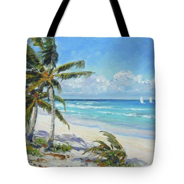 Sea Beach 12 - Punta Cana Tote Bag