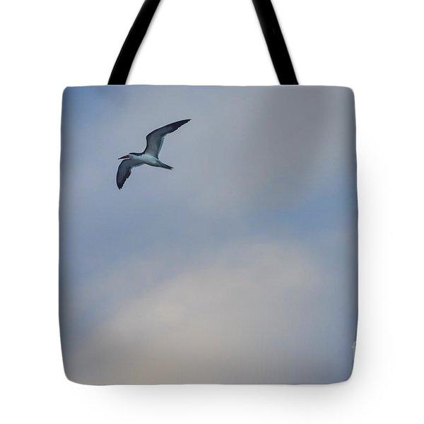 Sea Bird In Flight Tote Bag