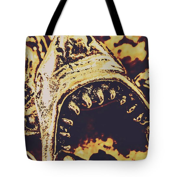 Sea Bites Tote Bag by Jorgo Photography - Wall Art Gallery