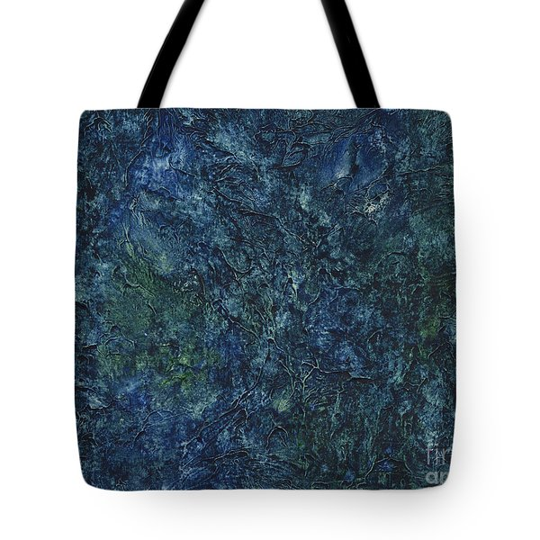 Sea Blue, Sea Green Tote Bag