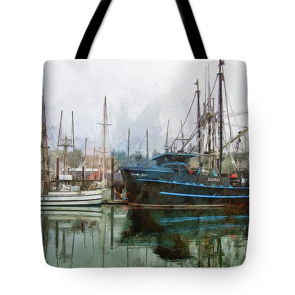 Sea Breeze And Lady Law Tote Bag