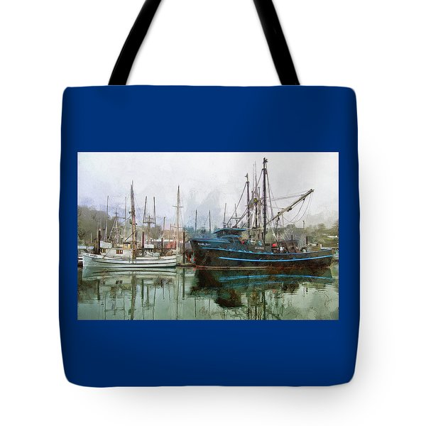 Tote Bag featuring the photograph Sea Breeze And Lady Law by Thom Zehrfeld