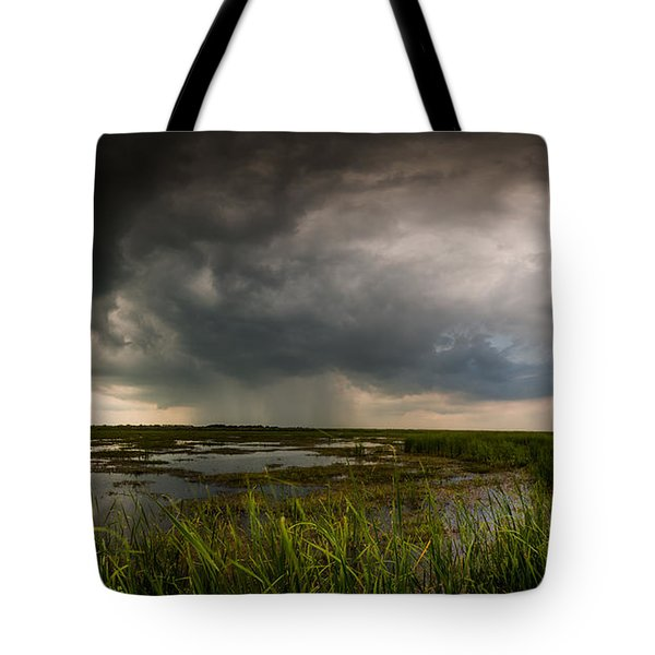 Sea Breeze Cell Tote Bag