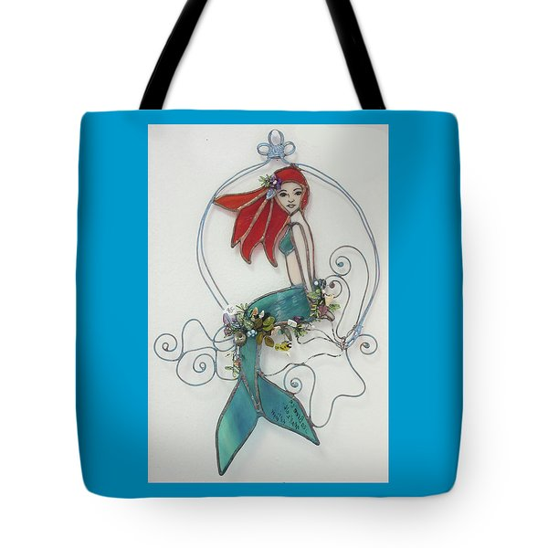Sea Breeze Tote Bag by Maxine Grossman