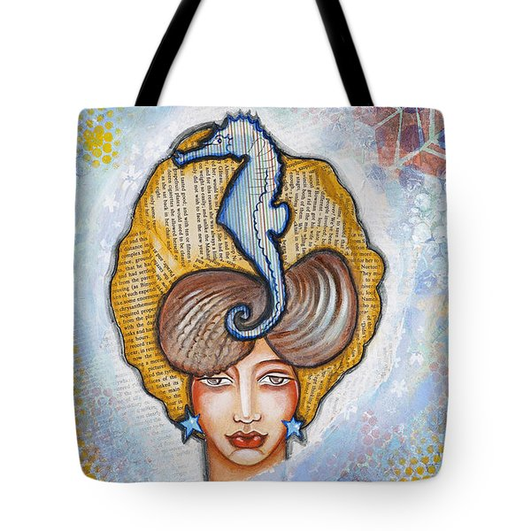 Sea Breeze Tote Bag by Stanka Vukelic