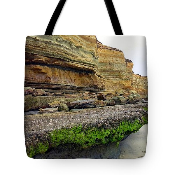 Sea Cliff Tote Bag