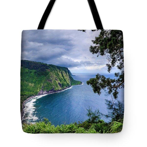 Sea Cliffs Tote Bag