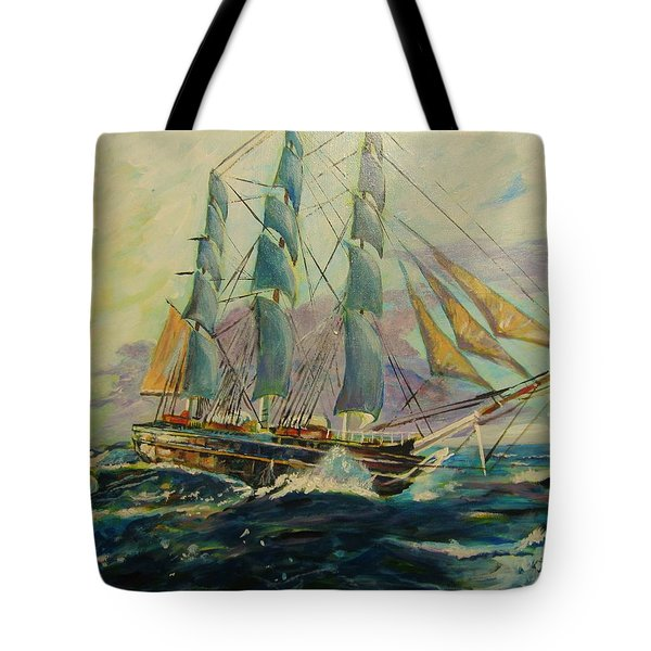 Sea Clipper Tote Bag