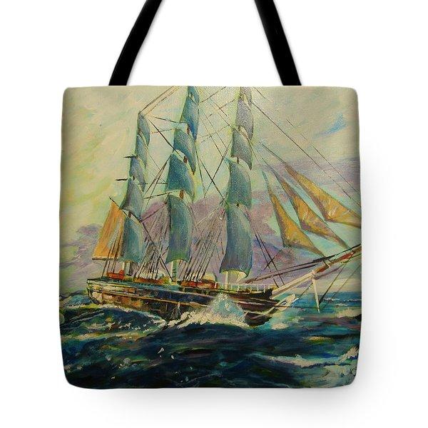 Sea Clipper Tote Bag