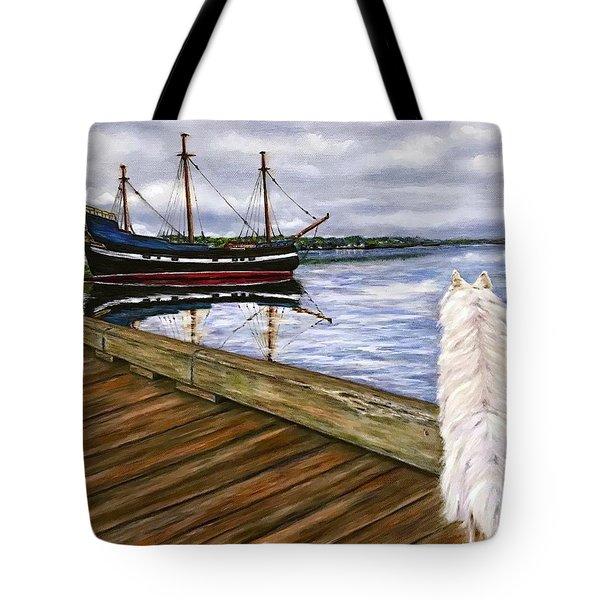 Sea Dog Tote Bag