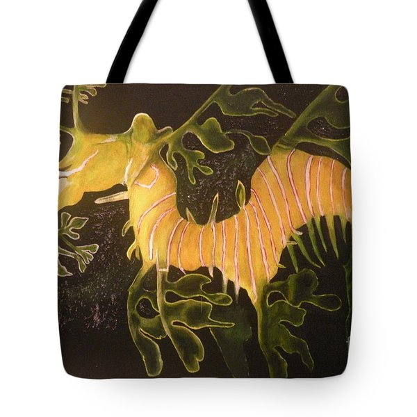 Sea Dragon Tote Bag by Carol Northington