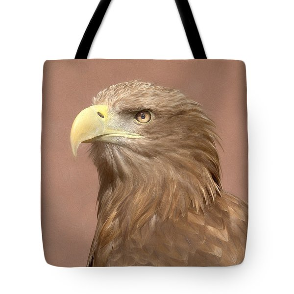 Tote Bag featuring the photograph Sea Eagle by Roy McPeak