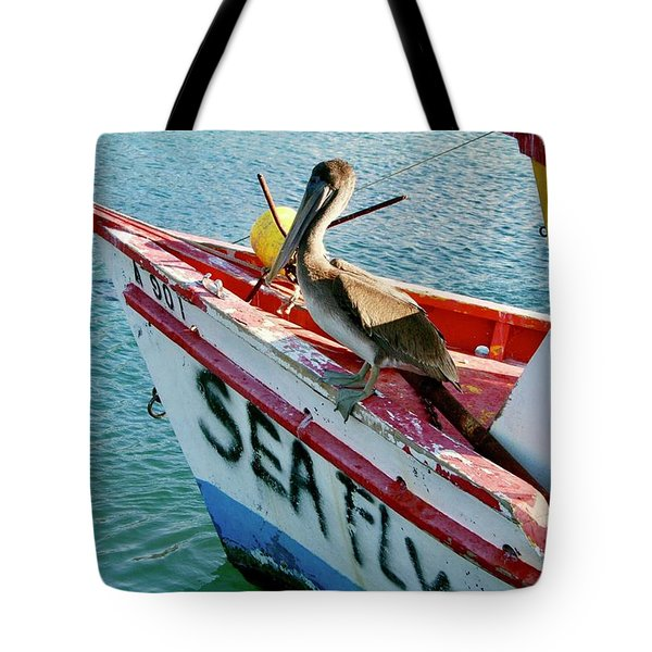 Sea Fly 1, Aruba Tote Bag