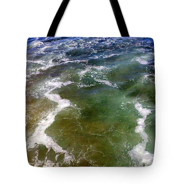 Artistic Ocean Photo Tote Bag