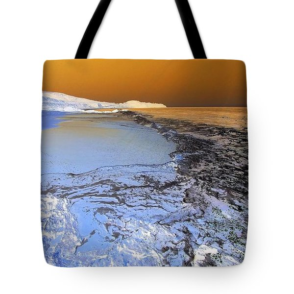 Sea Foam World Tote Bag