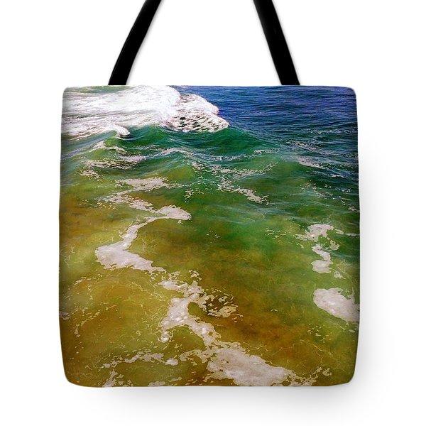 Colorful Ocean Photo Tote Bag