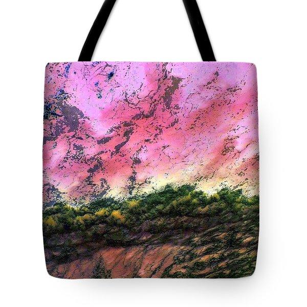 Sea Foam Art Tote Bag