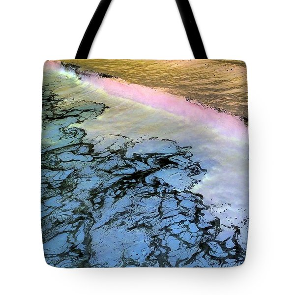 Sea Foam Pink Tote Bag