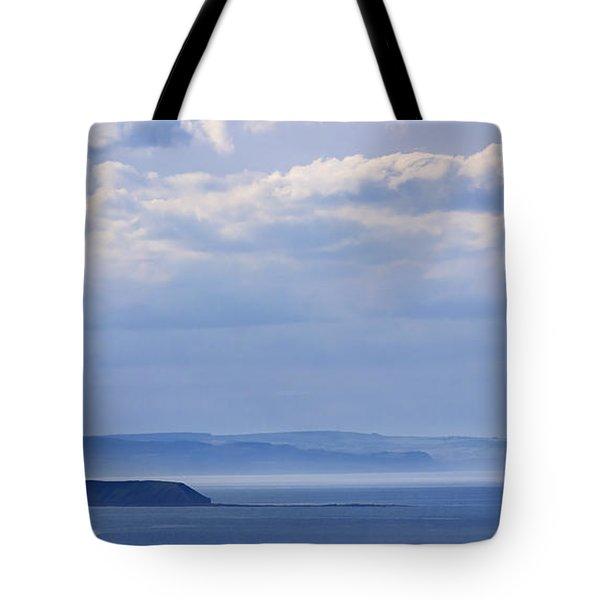 Sea Fret Tote Bag by David  Hollingworth