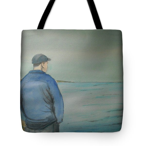 Sea Gaze Tote Bag by Anthony Ross