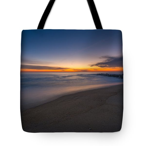 Sea Girt Sunrise New Jersey  Tote Bag