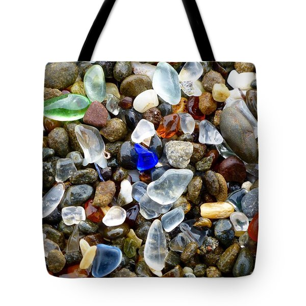 Sea Glass Beauty Tote Bag