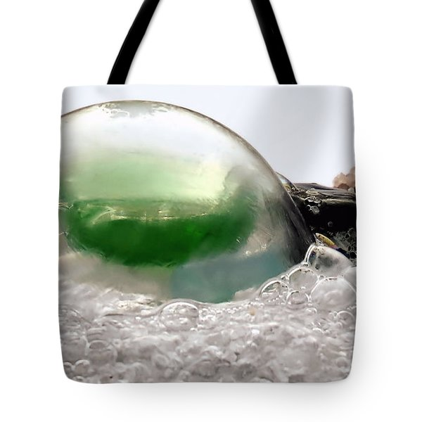Sea Glass In A Bubble Tote Bag
