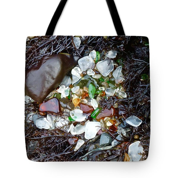 Sea Glass Nest Tote Bag