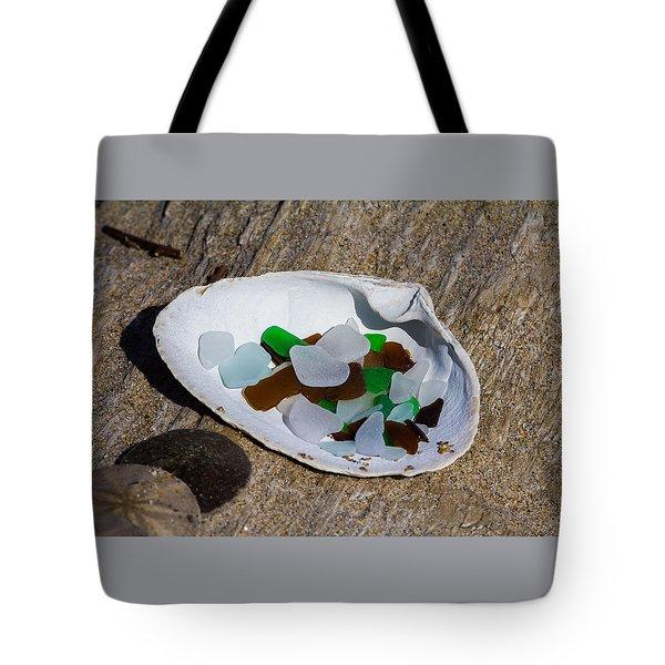 Sea Glass Treasure  Tote Bag